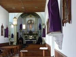 Interior of Yselta Chapel