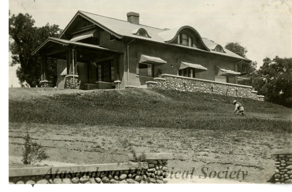 5540 Rosario. Blk MA/Lot 5. Delia Holden - Dr Craig - Clarence Radke - (now Jerry De Cou III). Built 1917-18. Ca. 1920