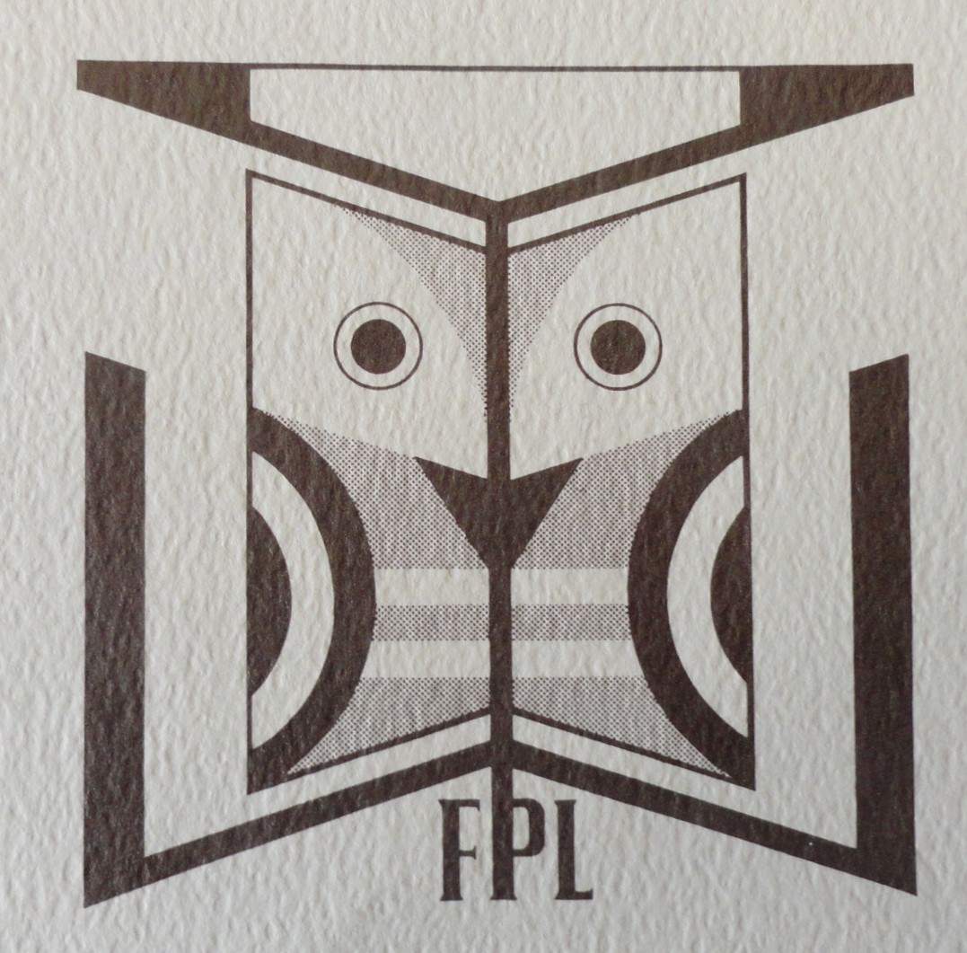 stylized modern owl with letters FPL