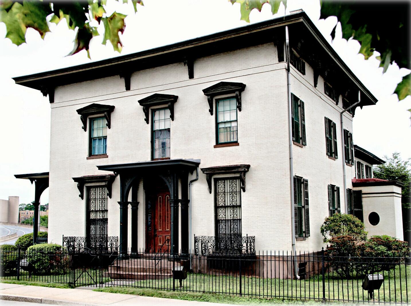 The Isham-Terry House.