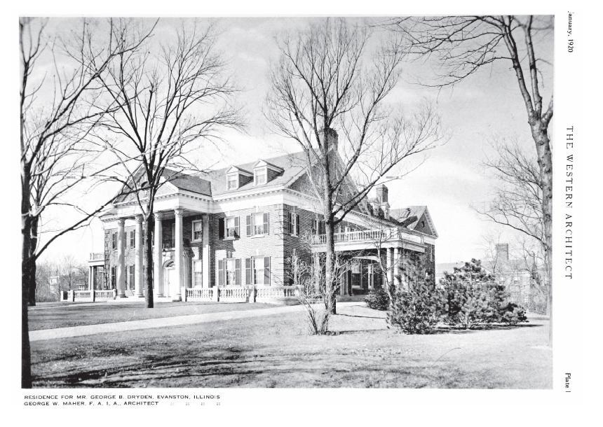 """Taken 1920, found in """"The Western Architect."""""""