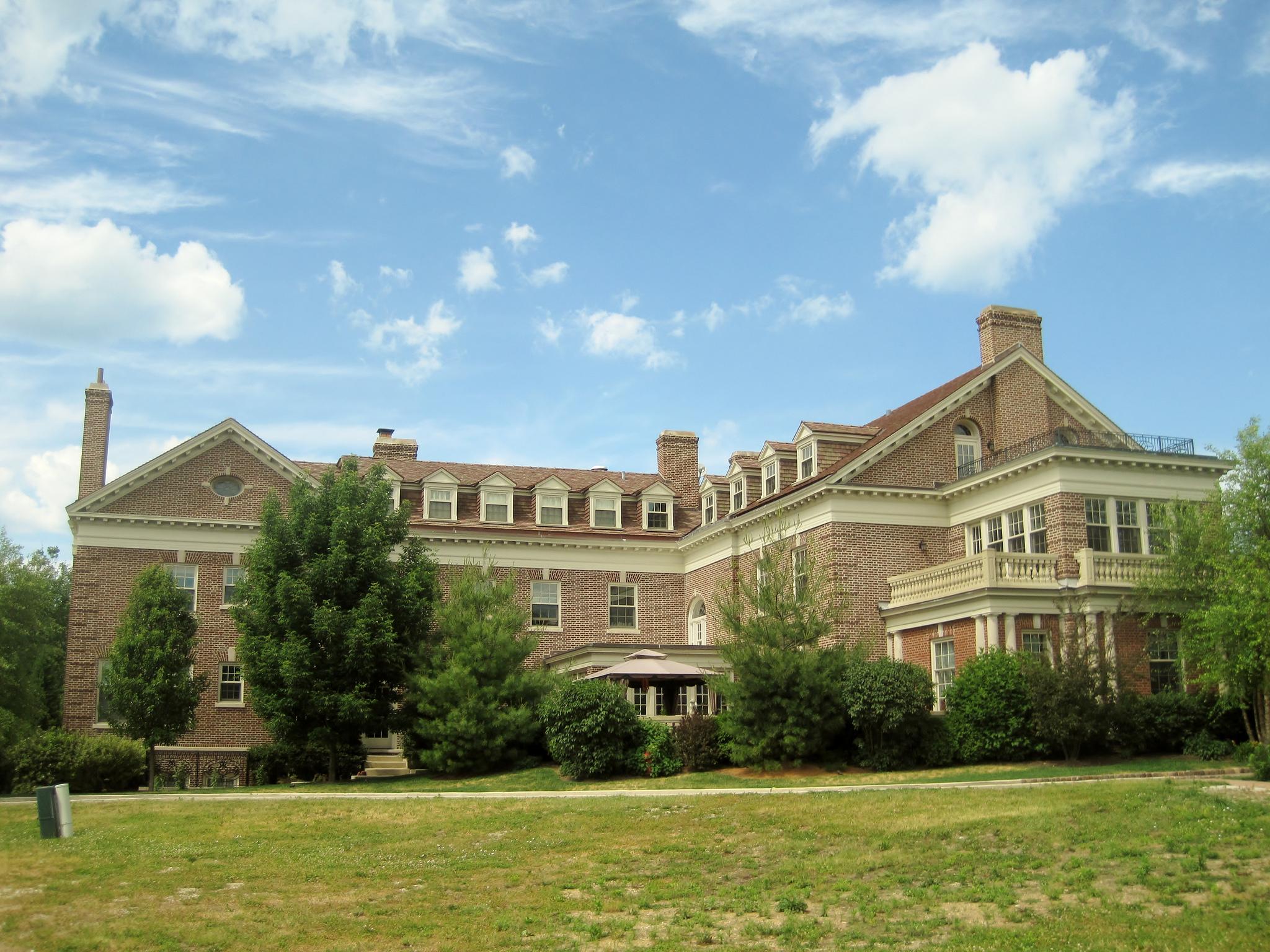 Back of the Mansion, Taken 2012.