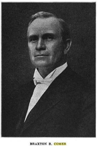 B.B. Comer, namesake of Comer Hall.