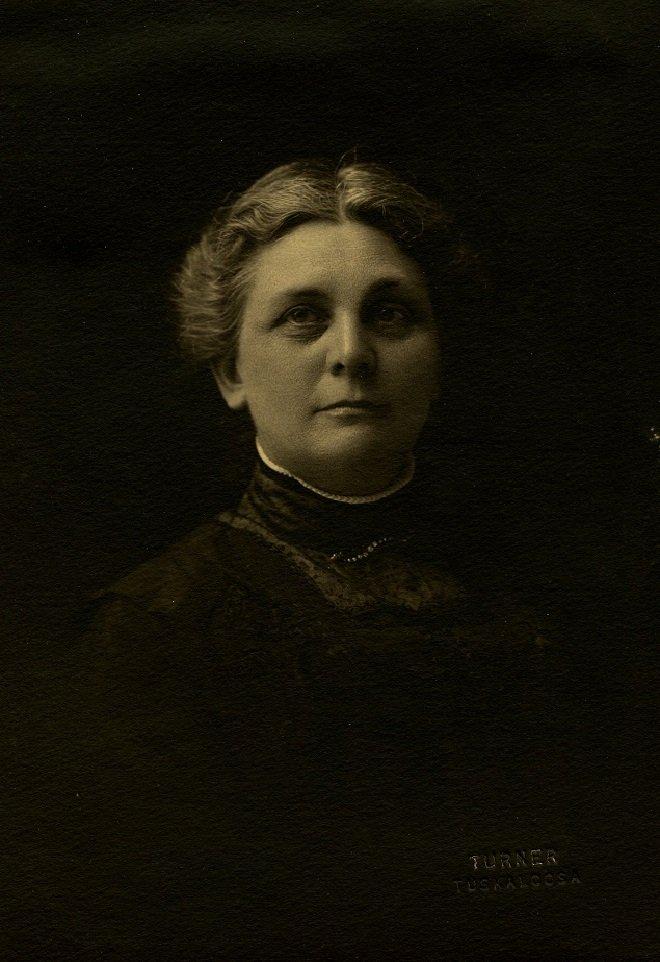A portrait of Mrs. Palmer
