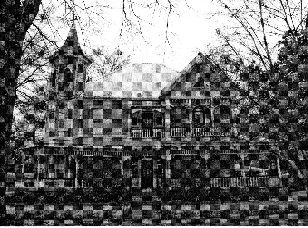 McKibbon House functioning as a bed and breakfast c. 2001.