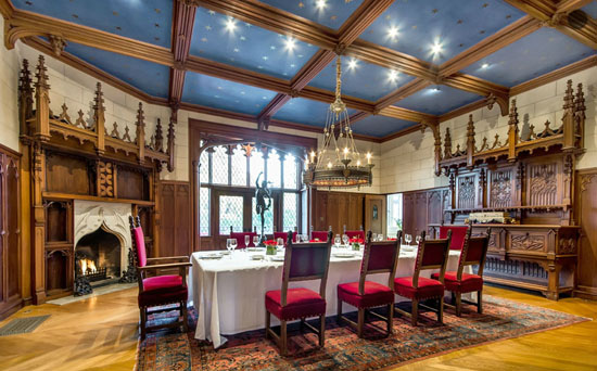 Lantarnam Hall / Morgan Estate Dining Room (after restoration)