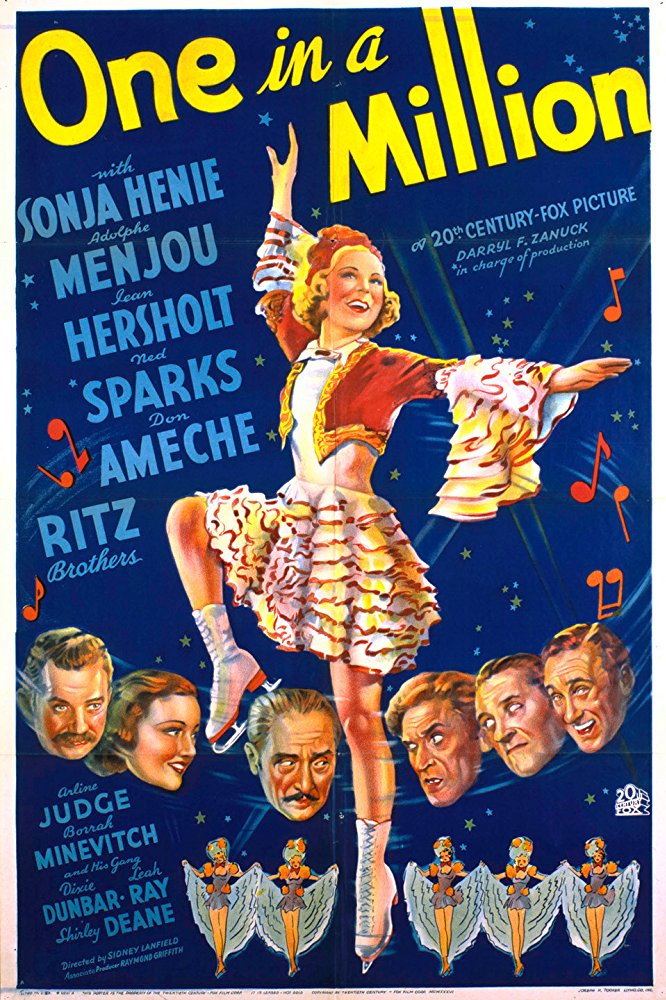 The film One in a Million came to Portsmouth in 1936