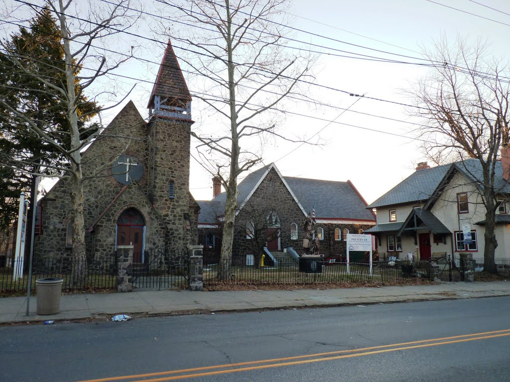 The museum is located in a repurposed historic church that had been closed for several years. Image obtained from Visit South Jersey.