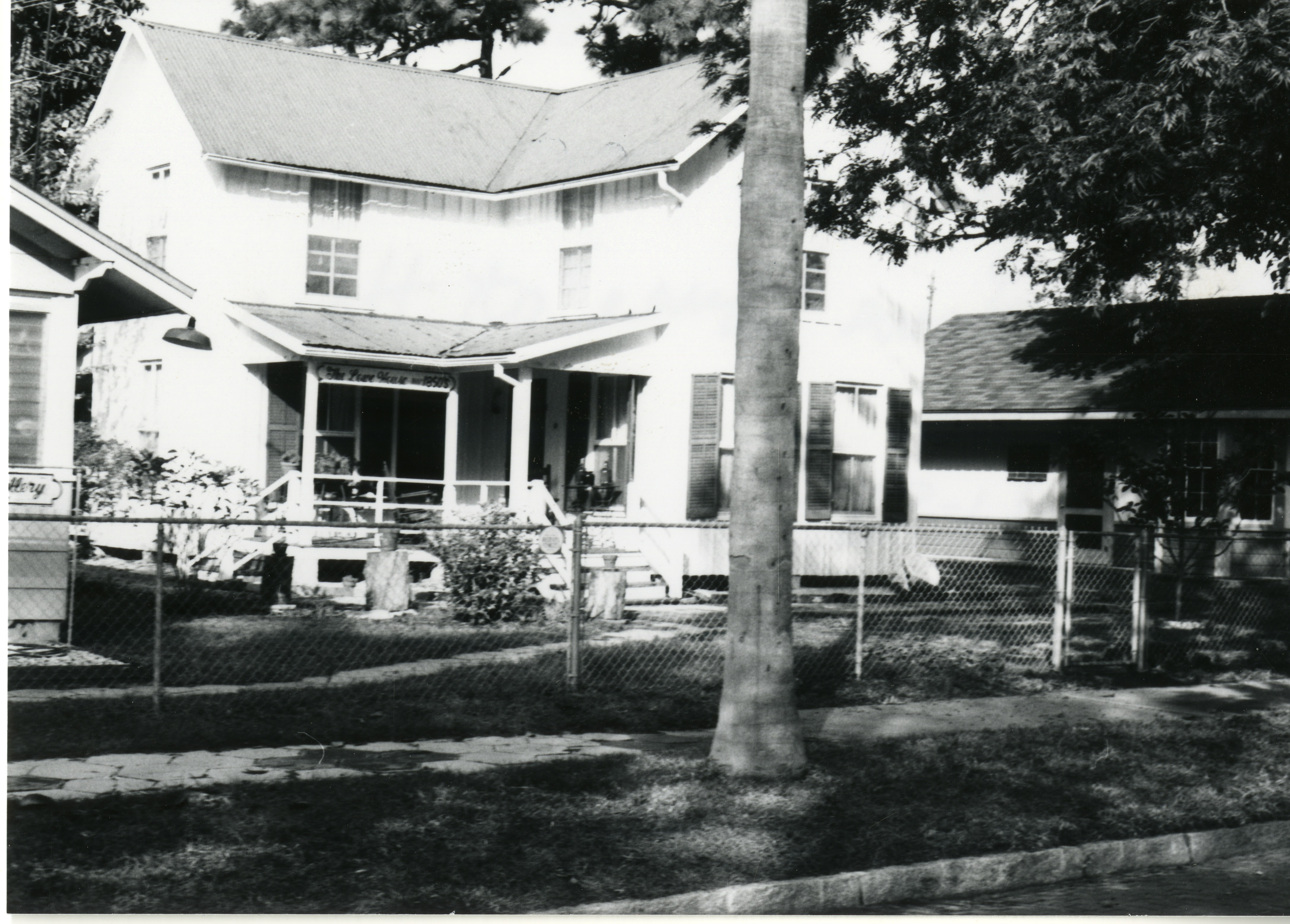 Lowe House at the former Haas Museum, St. Petersburg, Florida, circa 1982.