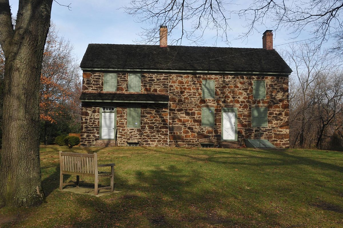 Burrough-Dover house dates to 1710 and is the headquarters of the Pennsauken Historical Society.