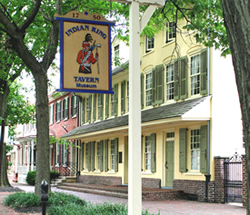 The Indian King Tavern continued in use as a tavern and boarding house until 1901. In 1903, the tavern became New Jersey's first State-owned historic site.