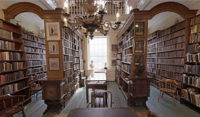 A look inside the library.