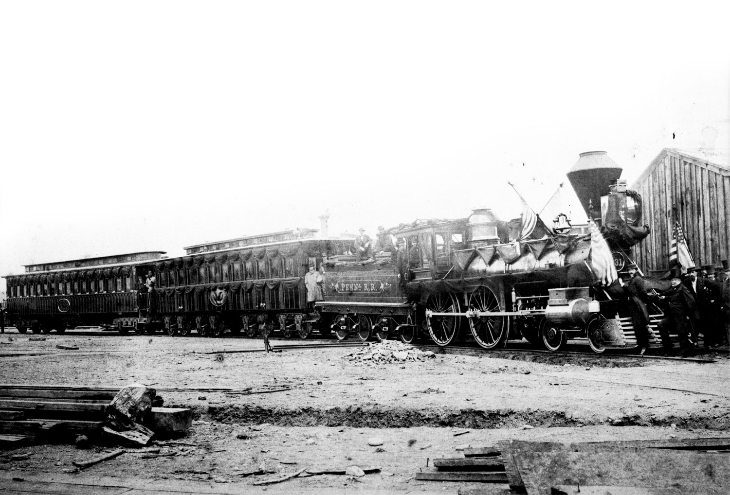 Lincon's funeral train passed through Calumet City on may 1, 1865.