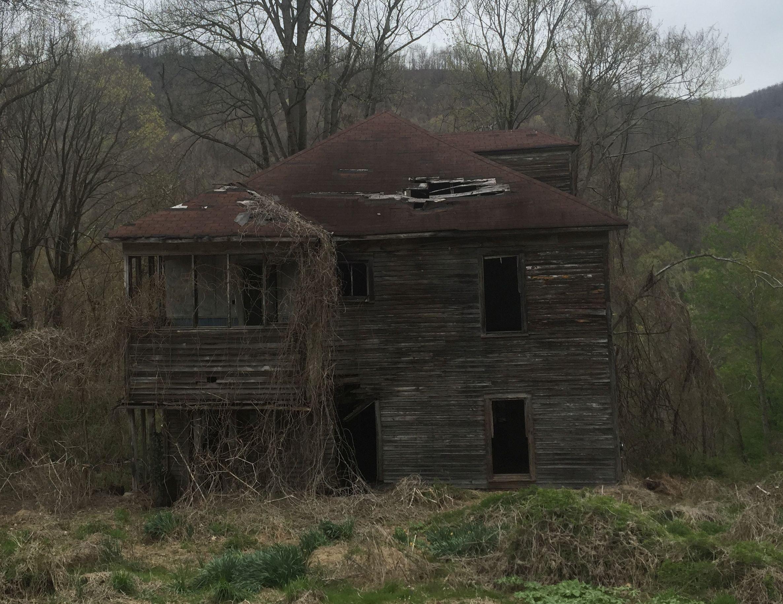 Eastern side of boarding house.