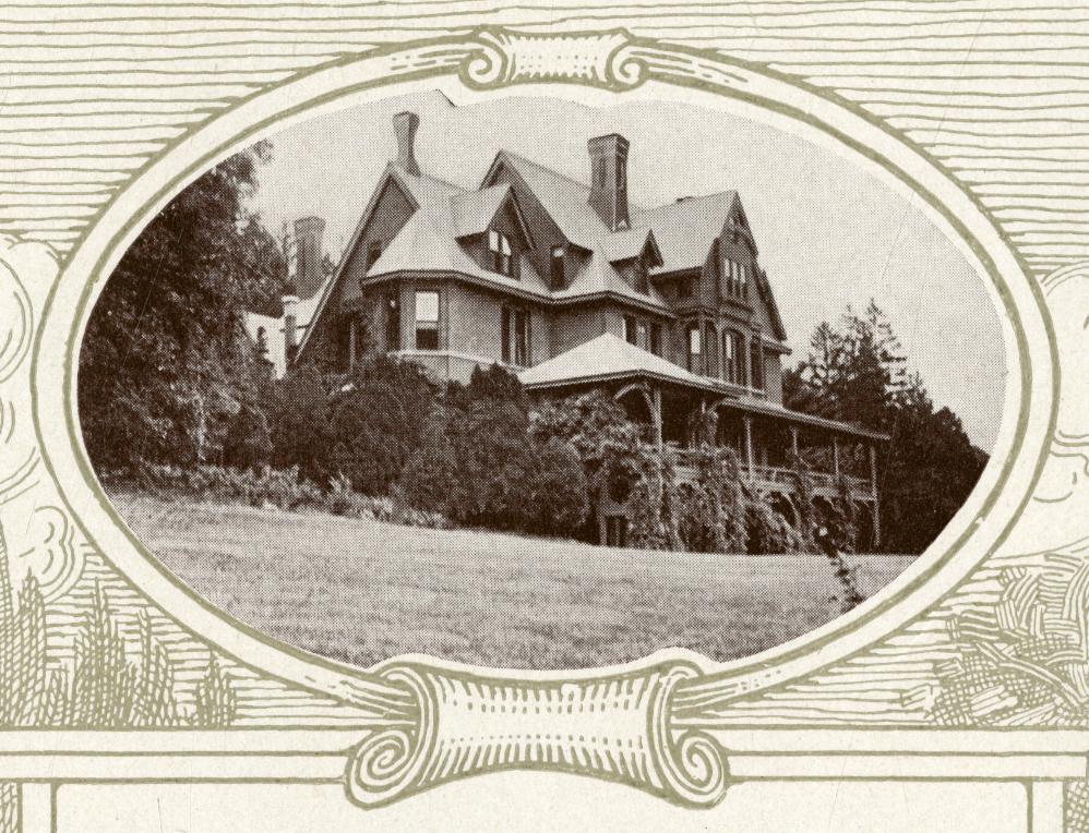 Beecher-McFadden Estate in the early 20th century.