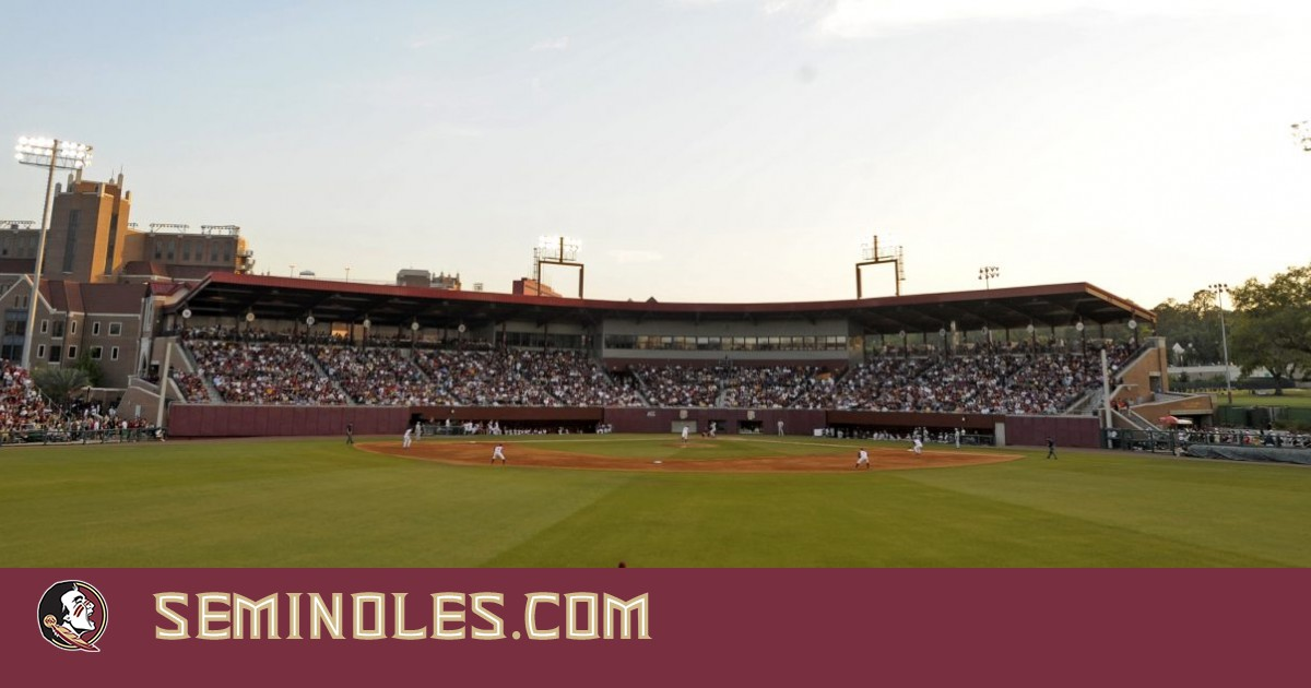 Here is a picture from the centerfield fence with the stadium packed with Garnett and gold as the Seminoles are playing the Hurricanes.