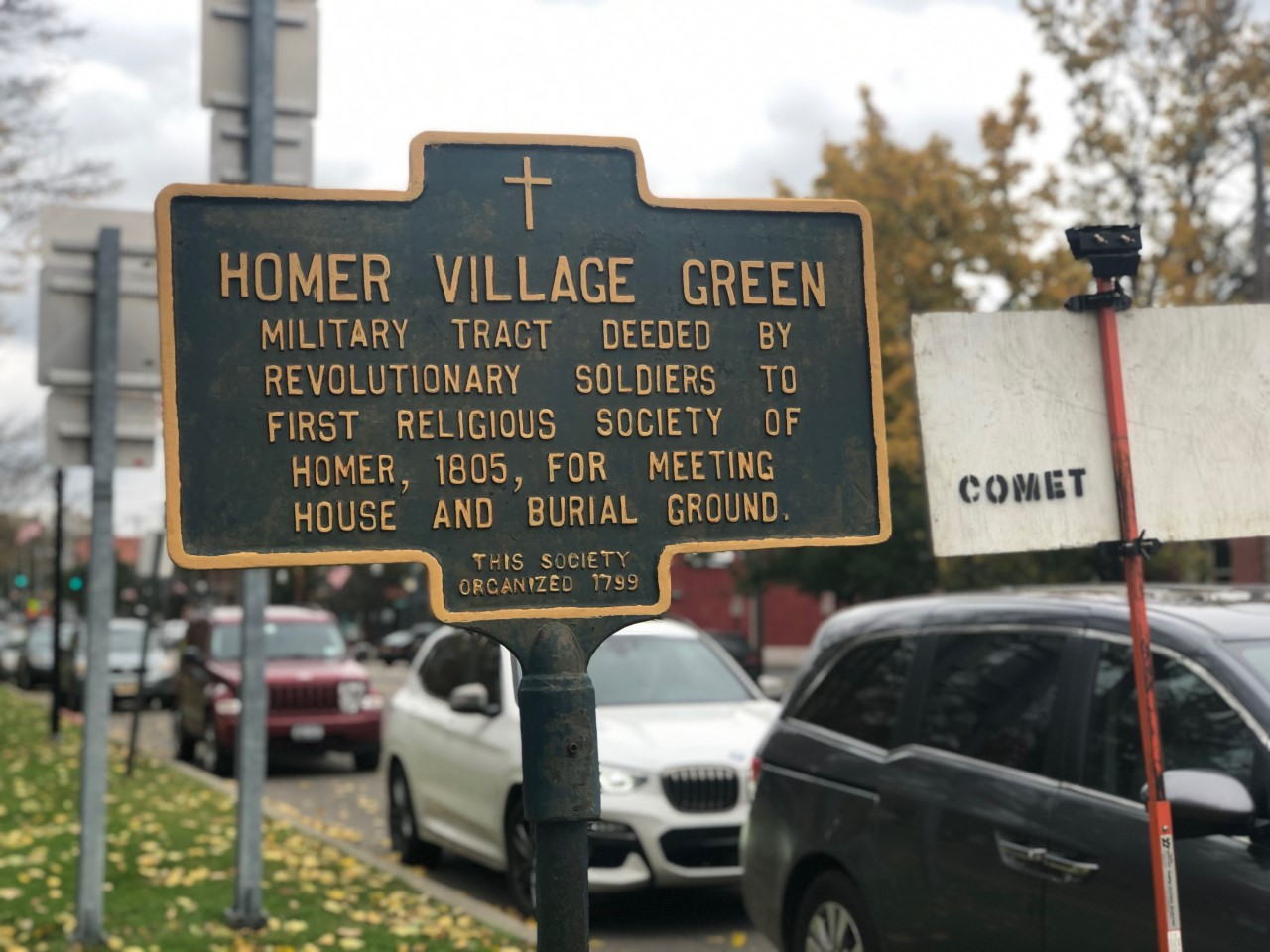 Homer Village Green Landmark