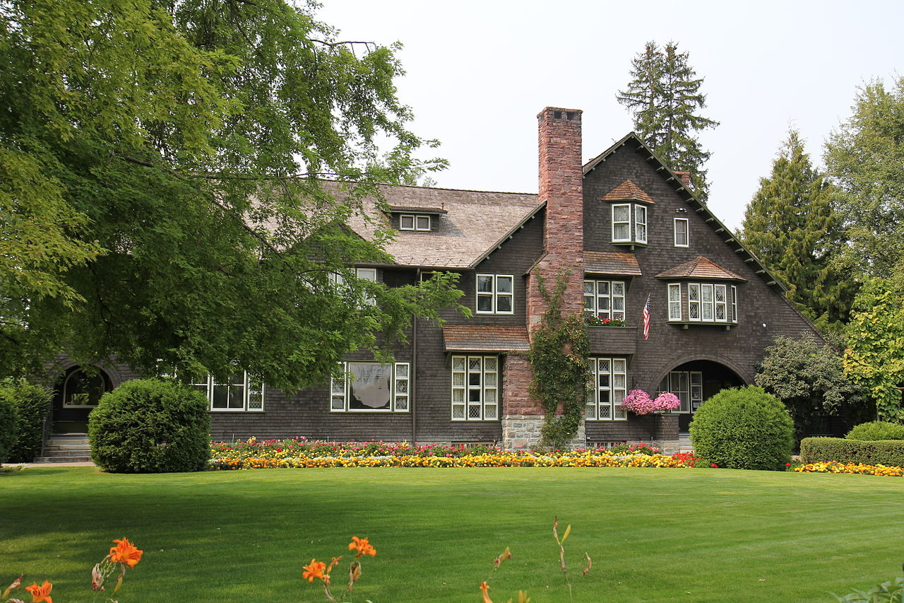 The Conrad Mansion Museum is a historic home built in 1895 by its namesake and the founder of Kalispell, Charles E. Conrad.