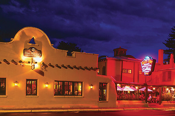 Night Life: the Historic Taos Inn