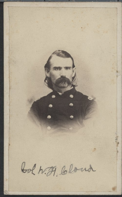 Union Colonel William F. Cloud