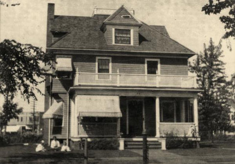 The childhood home of Theodor S. Geisel at 74 Fairfield St. in Springfield, MA.