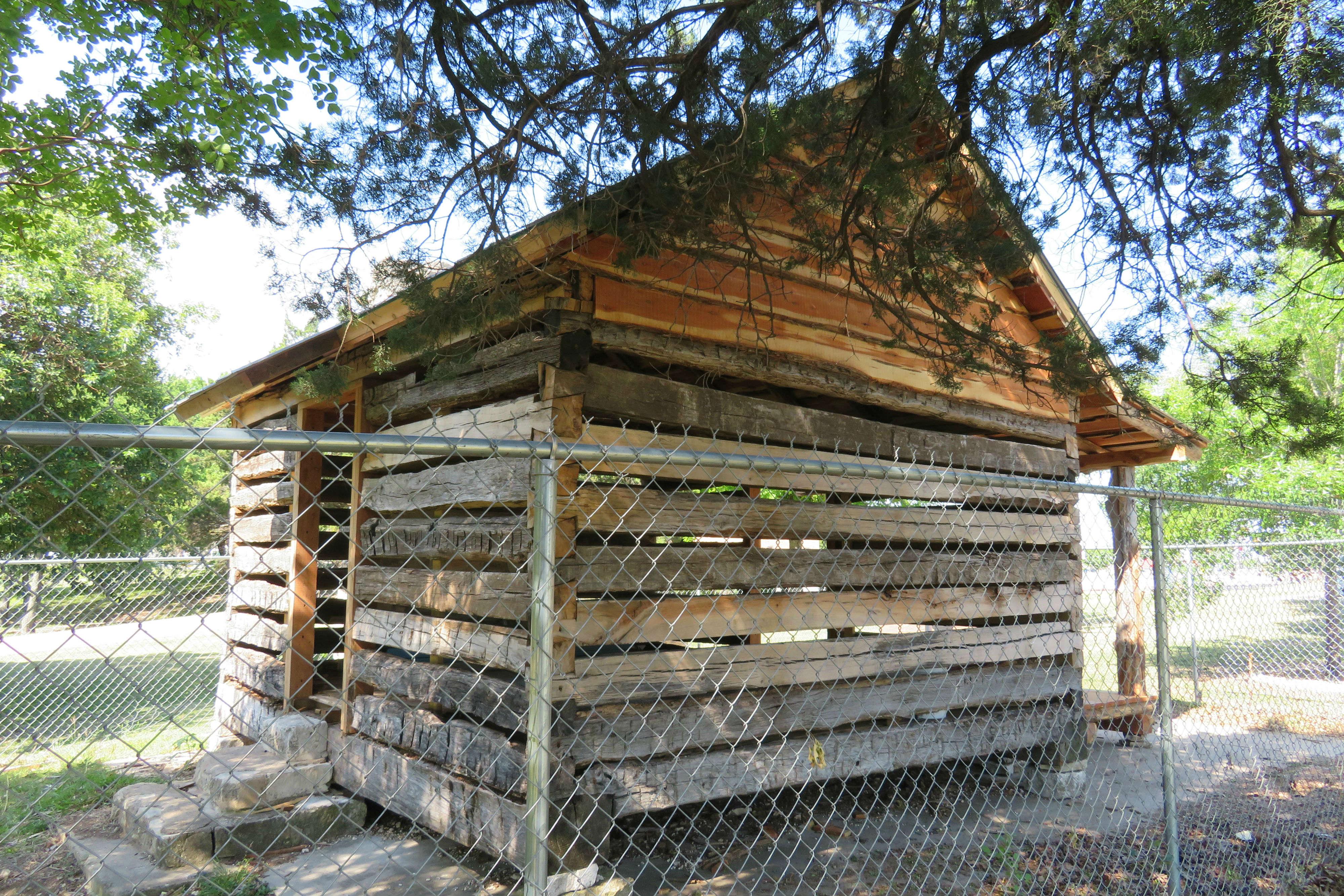 John C.G. Blackburn Cabin at Killeen Community Center