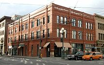 The historic Cadillac Hotel is now home to the Klondike Gold Rush, Seattle Unit National Park