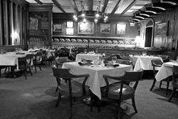Inside Ming's when it was in the Frederick