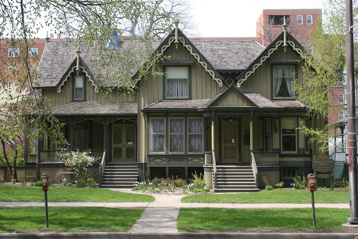Frances Willard House, modern picture.