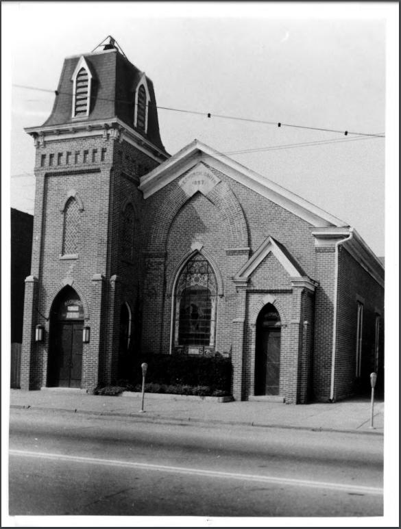 The church in 1974