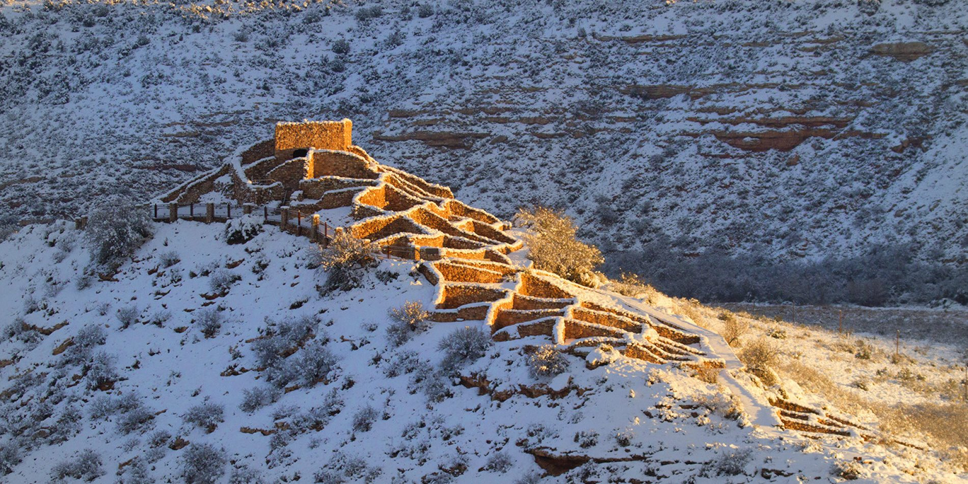 Tuzigoot in winter