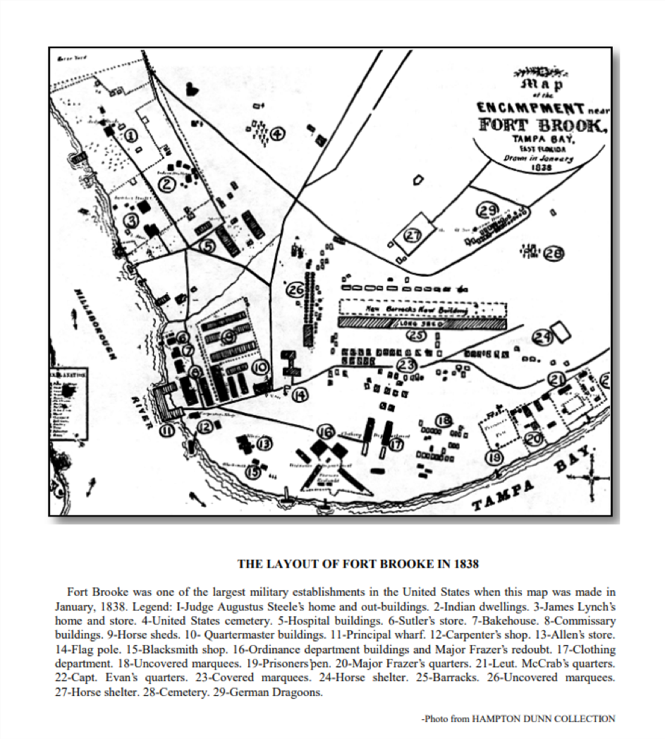 Fort Brooke Layout (1838)