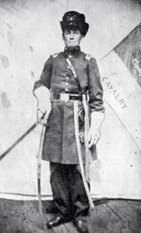 Captain George Conger, who chased the raiders almost into Canada.