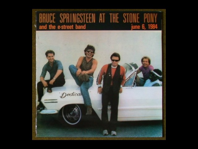 Bruce Springsteen Album Cover at The Stone Pony, 1984