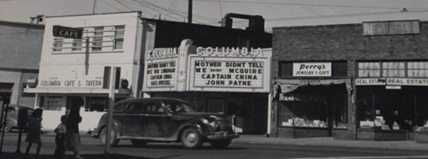 Columbia City Theater in the 1950's
