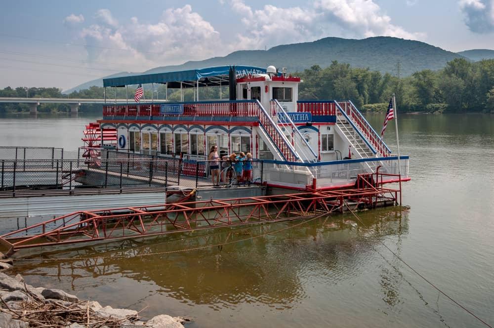 2019 Hiawatha docked at Susquehanna State Park