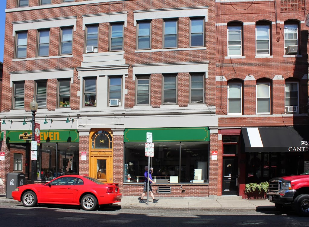 Today, a 7-11 stands in the place of the Mather-Elliot Home on Hanover Street