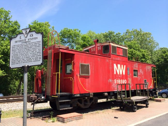 The Clifton Caboose