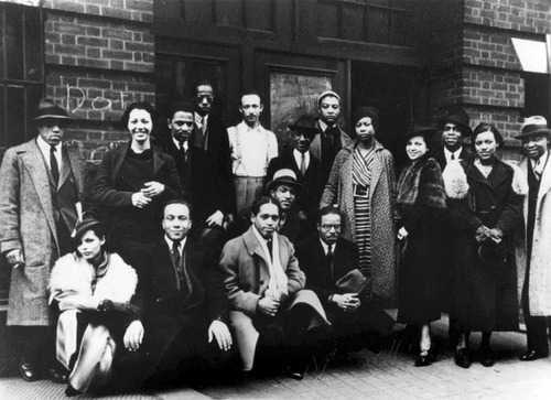 The Harlem Renaissance artists, including Alston, that use the 306 studio.