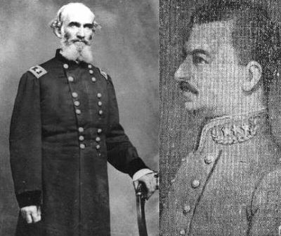 General Andrew Jackson Smith (left) / Colonel Colten Greene (right)