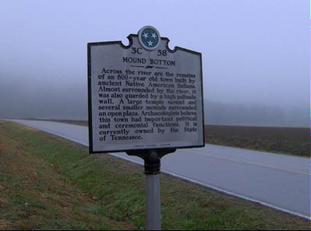 Mound Bottom Site Marker