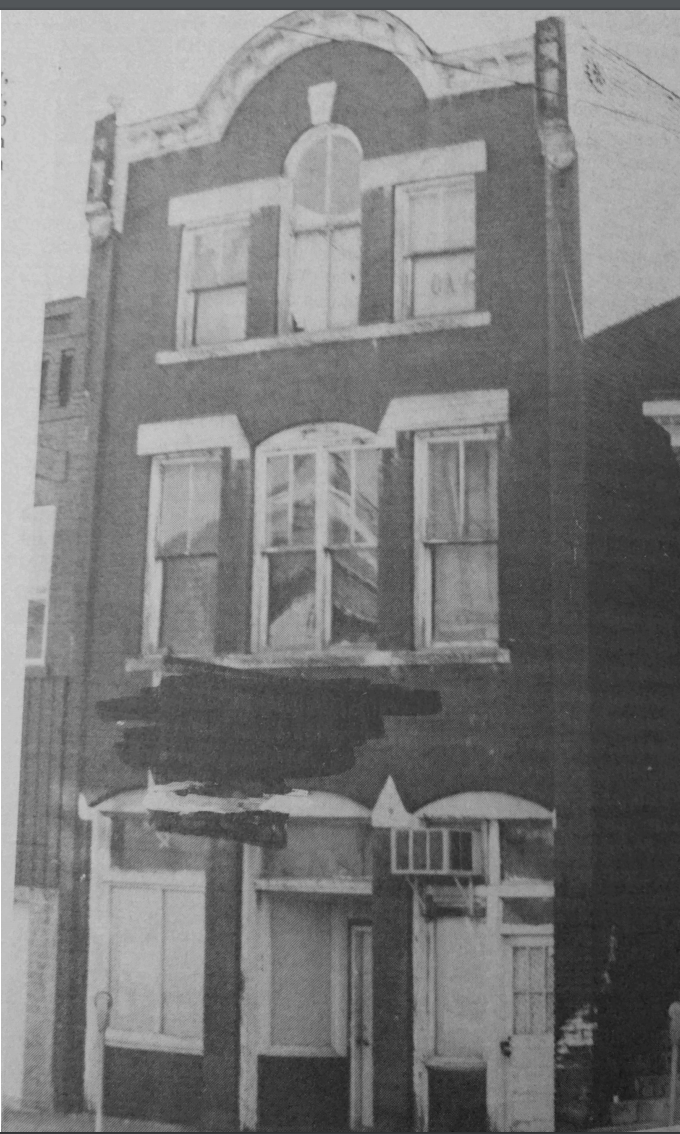 The original store in Catlettsburg