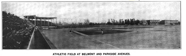 Penmar Park, aka 44th and Parkside ballpark, was built by the Pennsylvania Railroad YMCA and leased by the Stars