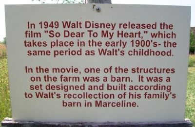 "Walt Disney's film ""So Dear to My Heart"" was based on his childhood on this farm."
