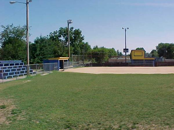 The ball fields today