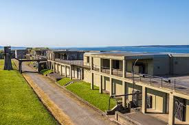Fort Casey was established in 1890 to help defend the Puget Sound. It remained active until 1950.