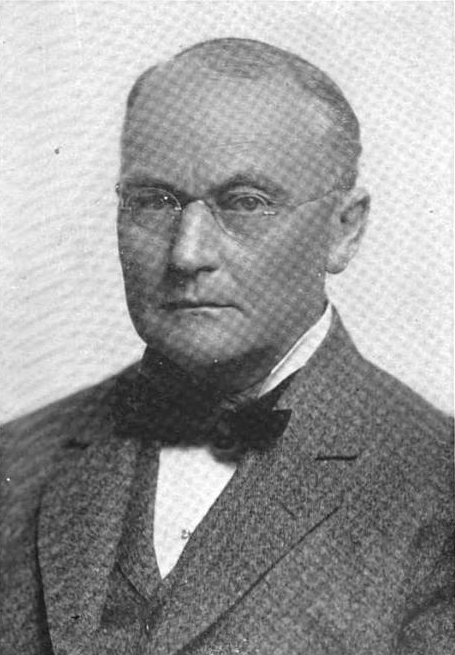 Edward Kirk Warren as pictured in the Michigan History Magazine in 1919.