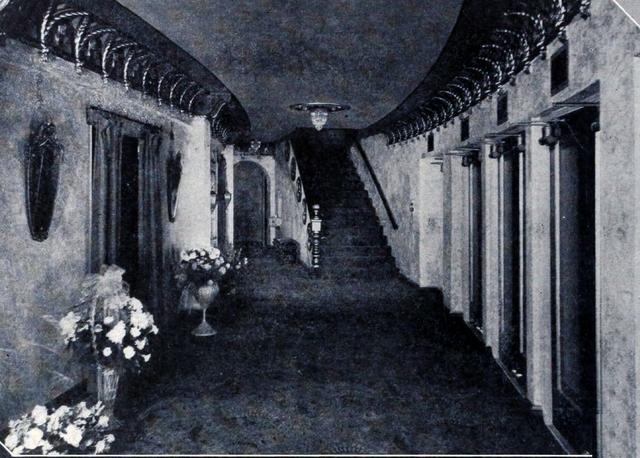 The lobby circa 1929