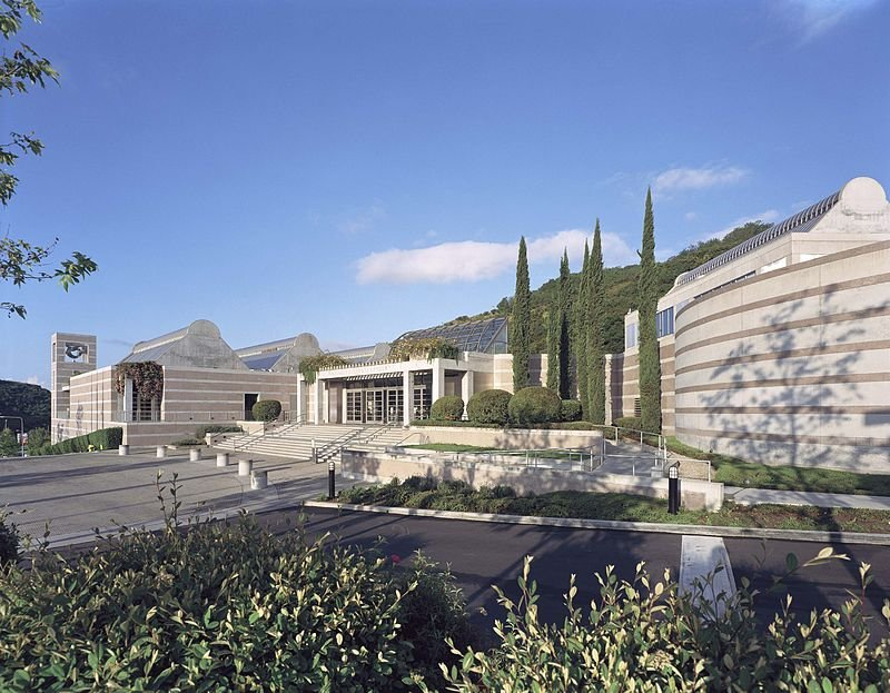 The Skirball Cultural Center opened in 1996. It preserves Jewish history and promotes cultural understanding.