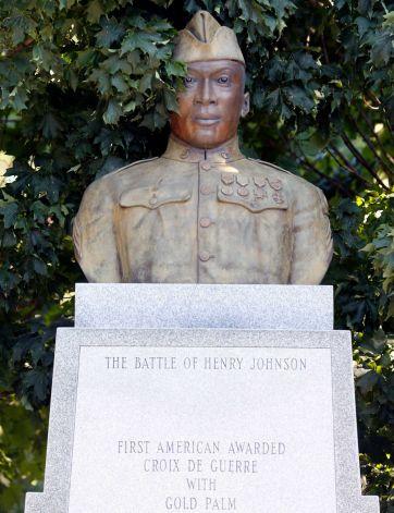 Henry Johnson Memorial Statue